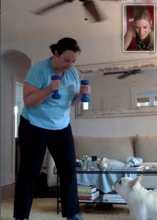 Facetime Personal Training with Dr Laura Miranda NYC