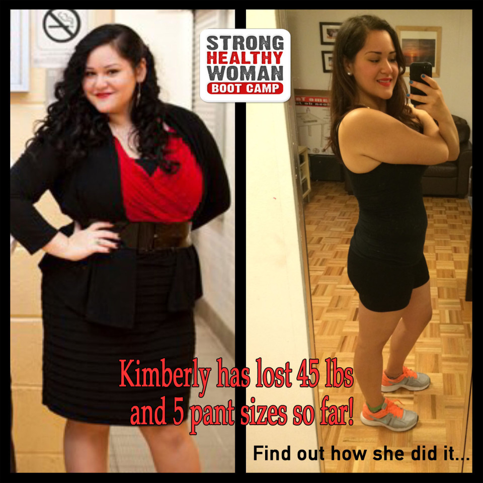 Kimberlys Weight Loss Transformation StrongHealthyWoman Boot Camp