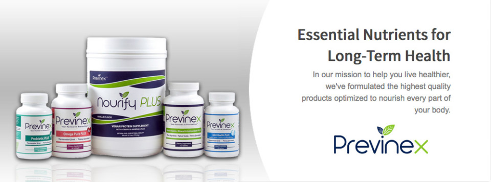 Previnex Products on Strong Healthy Woman