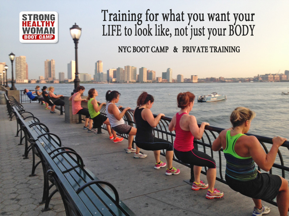 StrongHealthyWoman Boot Camp Training NYC Battery Park
