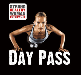 Strong Healthy Woman Day Pass