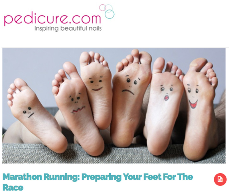Laura Miranda Physical Therapist on Marathon Training in Pedicure.com