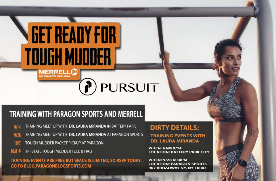 Tough Mudder + PURSUIT NYC event with Dr. Laura Miranda
