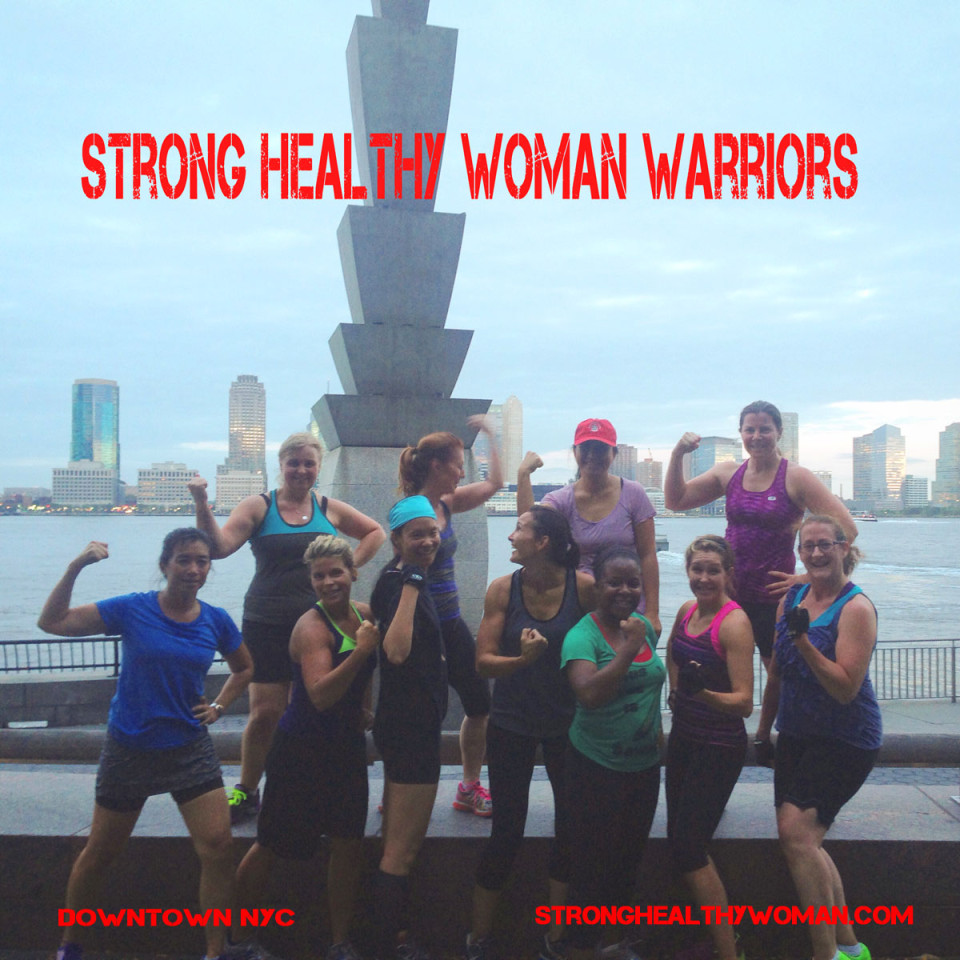 Strong Healthy Woman Warriors