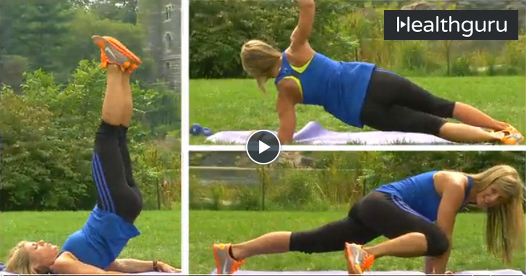 Best Ab Exercises For Women with Laura Miranda
