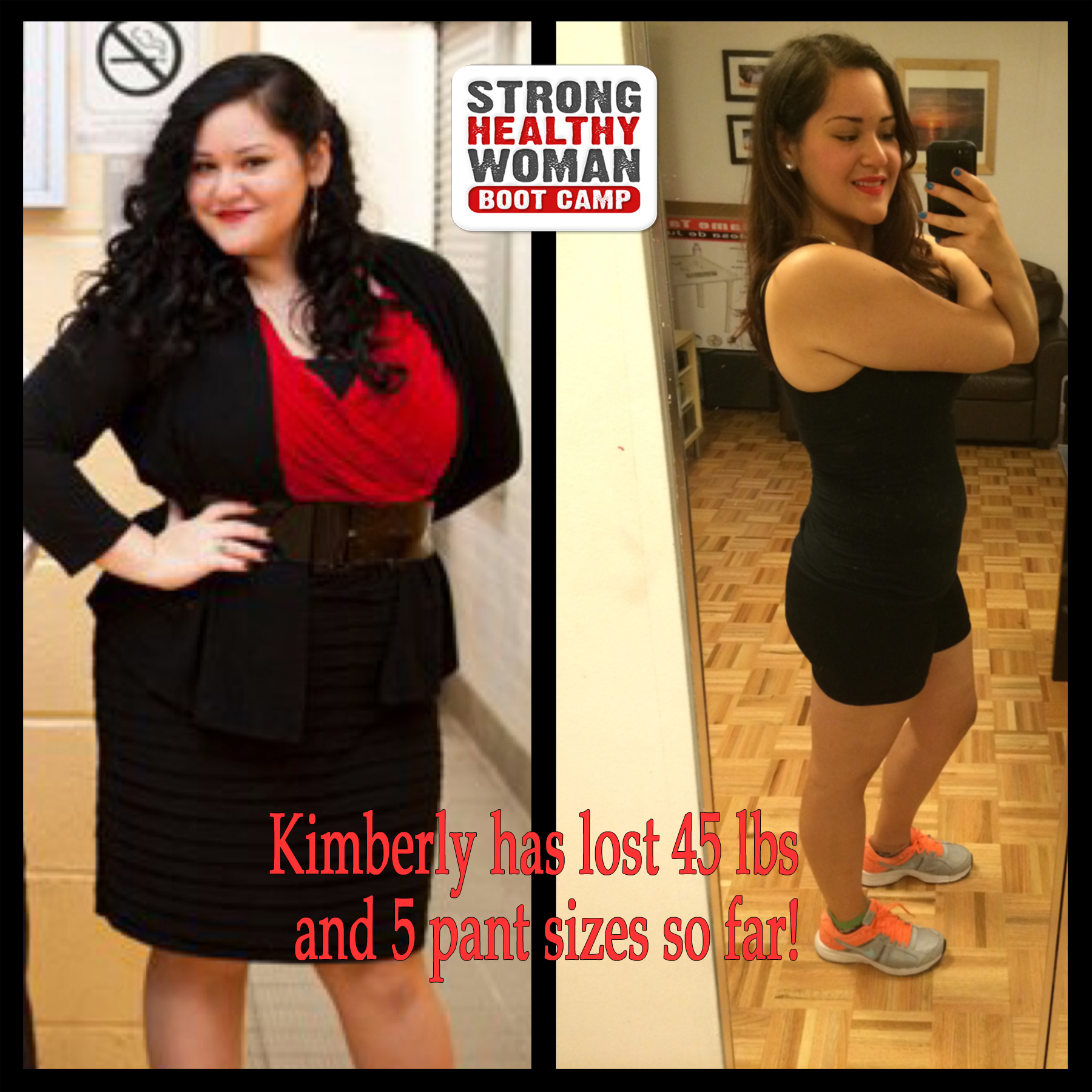 Kimberlys Weight Loss Transformation StrongHealthyWoman