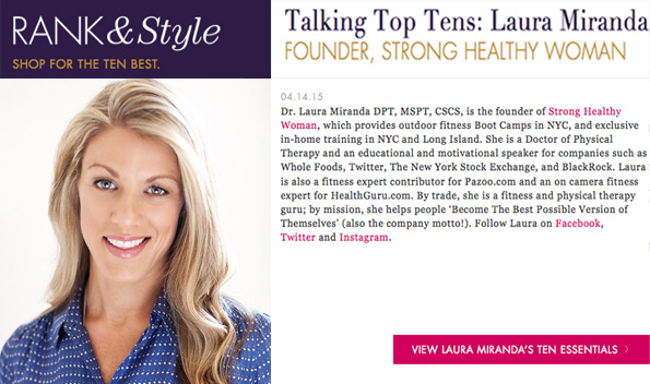 Rank And Style Dr Laura Miranda