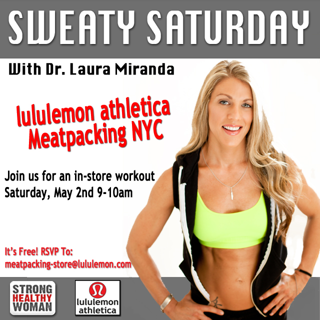Lululemon Dr Laura Miranda Sweaty Saturday