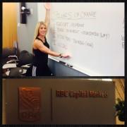 Laura Miranda Wellness Lecture on Wall Street