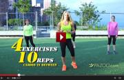 Laura Mirandas Hip And Thigh Matrix Video