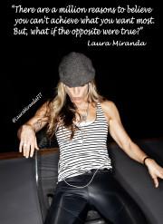 Workout motivation Dr Laura Miranda