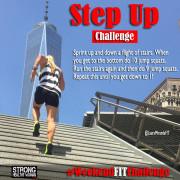 Step Up Challenge Weekendfitchallenge