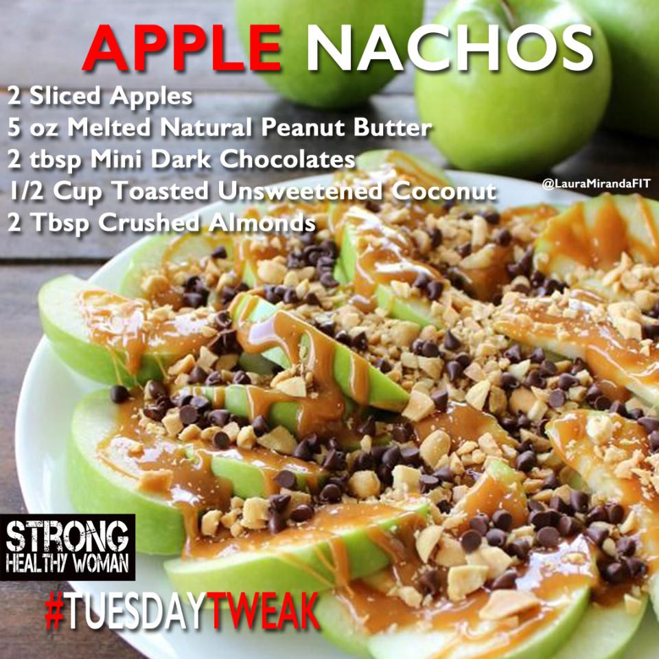 Peanut Butter And Apple Nachos Tuesday Tweak