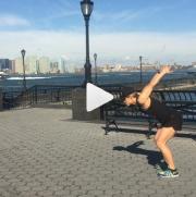 Single Arm Burpee Broad Jump Dr Laura Miranda
