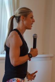 Fearless Fest NYC Dr Laura Miranda presenting
